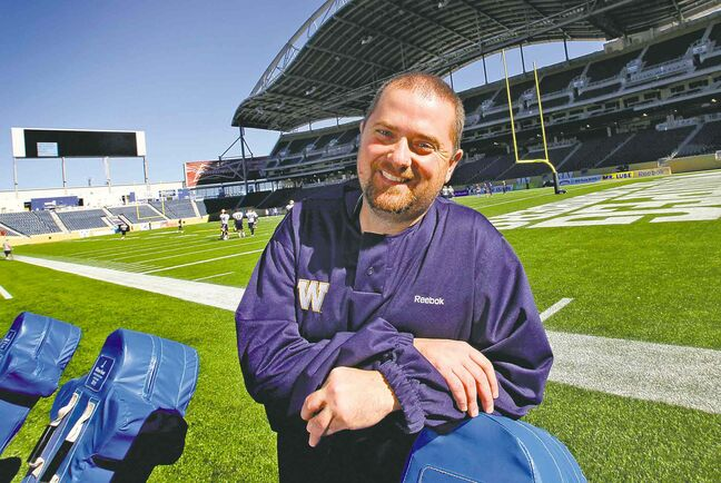 Brad Fotty, the Winnipeg Blue Bombers' equipment manager and likely longest-serving employee, shrugs off cloak-and-dagger conspiracy theories. Then again, conspirators always do...