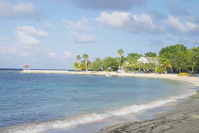 Ron Pradinuk/Winnipeg Free Press Access to the quiet beaches of Jamaica increases as more flights are added.