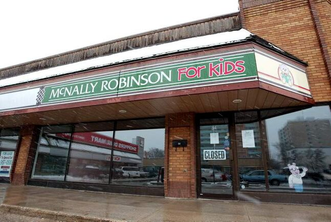 May 9, 2002: McNally Robinson For Kids on Grant closed.