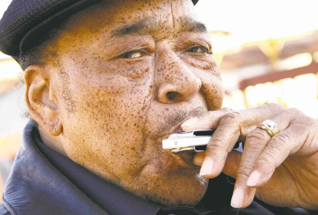 Mississippi-born James Cotton learned to play harmonica from Sonny Boy WIlliamson II.