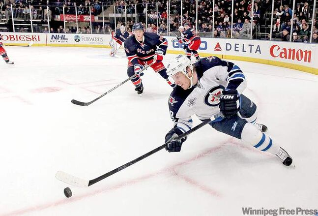Jim McIsaac / McClatchy news serviceJets� centre Bryan Little has traversed a few rough patches before, going scoreless for about 15 games last season. He�s now trying to get more shots away.
