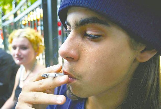 Tobin Grimshaw / The Canadian PressA survey found young-adult light smokers preferred in-person help with quitting.
