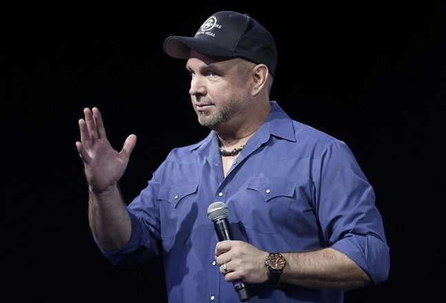 Country music star Garth Brooks