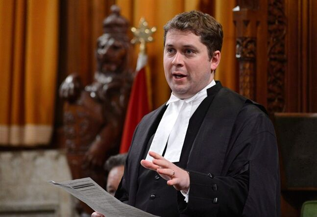 House of Commons Speaker Andrew Scheer is pictured April 22, 2013. THE CANADIAN PRESS/Sean Kilpatrick