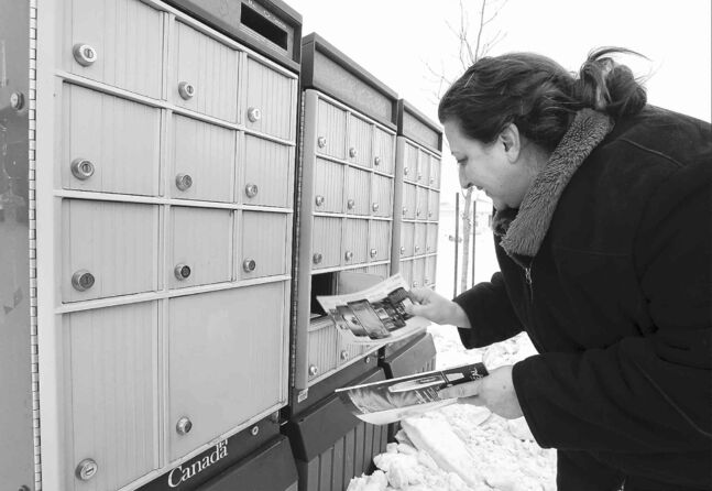 Angie Lawrence didn't like using the community mailbox at first, but says it's safe and secure and now she 'loves it.'