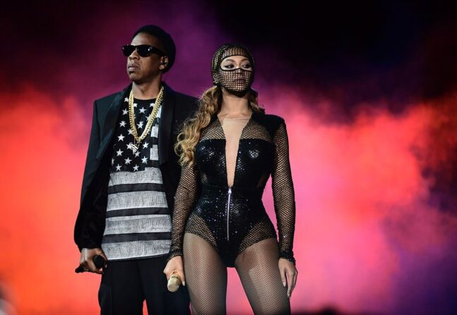 Beyonce and Jay Z perform on Tuesday, Aug. 5, 2014, in San Francisco. THE CANADIAN PRESS/AP, Mason Poole/Invision for Parkwood Entertainment