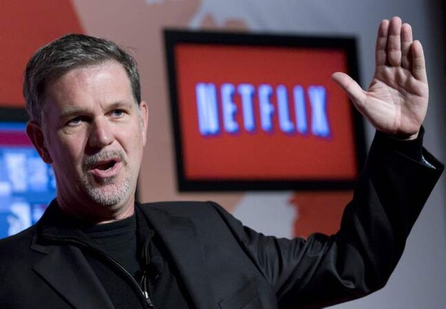 Netflix CEO Reed Hastings in spending big bucks on original content.