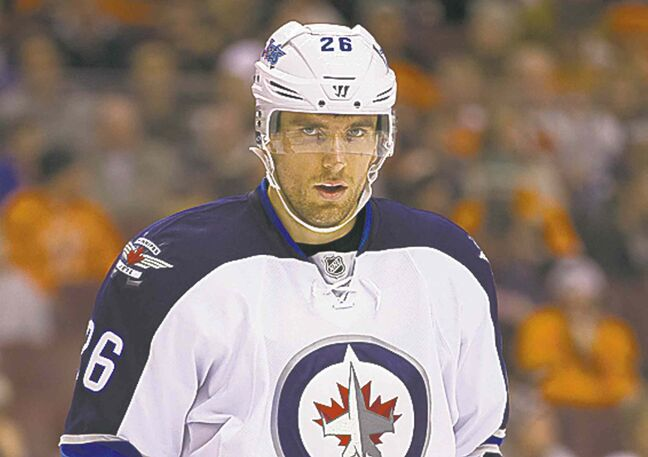 Blake Wheeler had lofty goals in October.