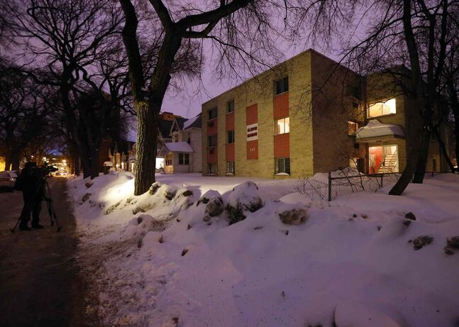 Winnipeg police are investigating a suspicious death in an apartment building in the 200 block of Balmoral Street.