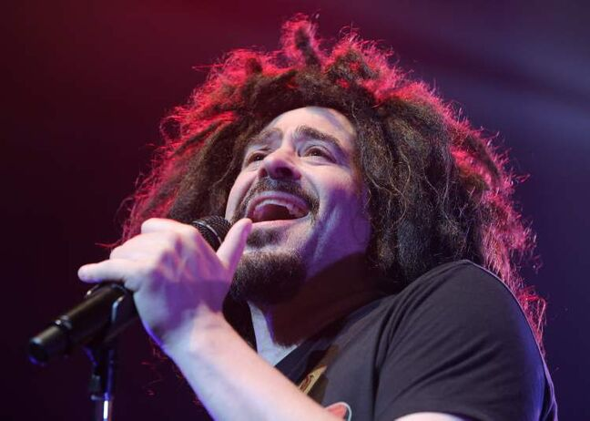 Counting Crows lead singer Adam Duritz.