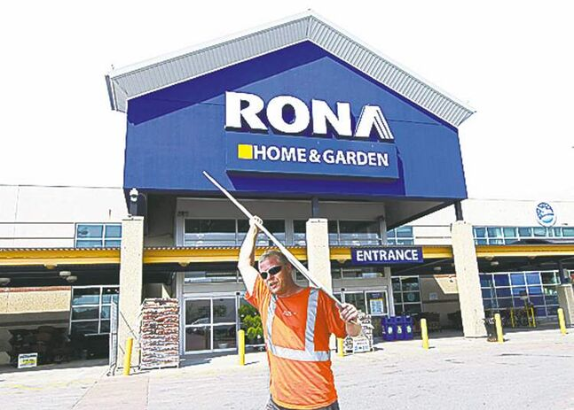 Rona Inc. plans to close a total of 11 unprofitable stores in Ontario and B.C.