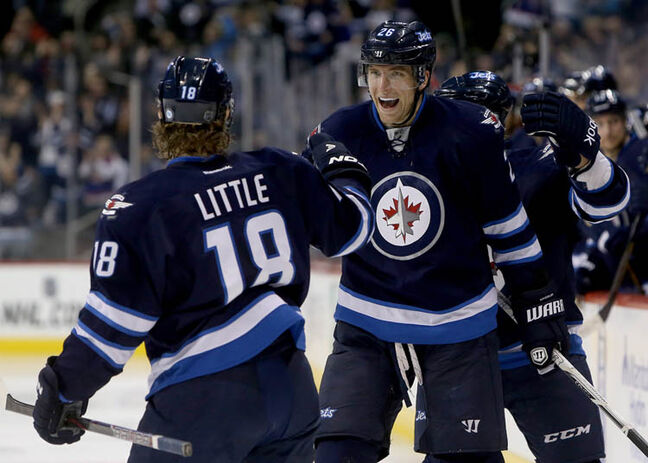 Right-winger Blake Wheeler proved his worth in this year's shortened NHL season, putting 19 in the net for the Jets and earning 41 points.