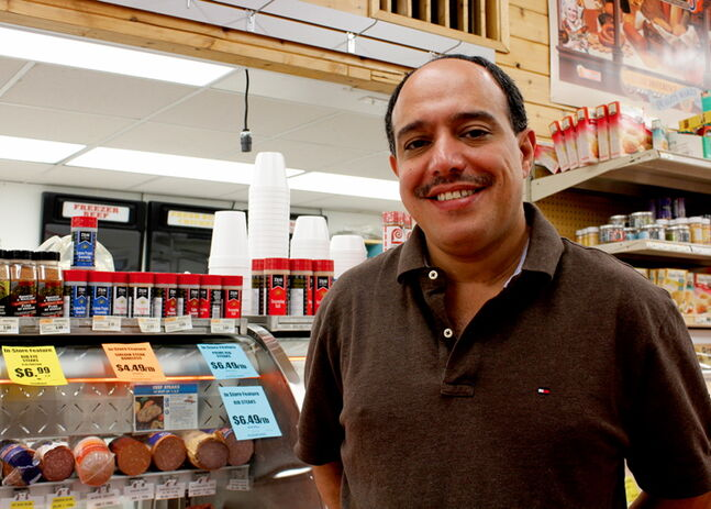 Munther Zeid is the owner and manager of Food Fare at 2285 Portage Ave.
