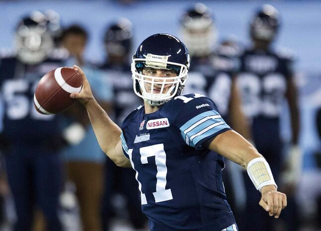 Former Toronto Argonauts quarterback Zach Collaros, now a free agent, is reportedly in talks with the Bombers and the Ticats.