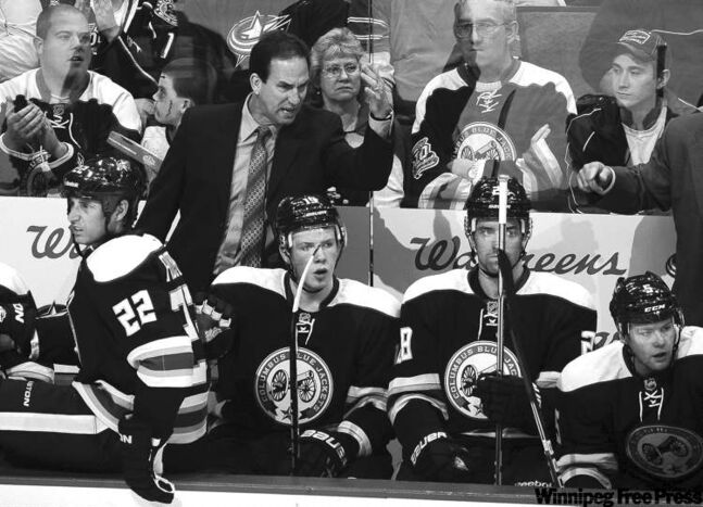 Columbus Blue Jackets head coach Scott Arniel hates the uncertainty -- the axe could fall any day.