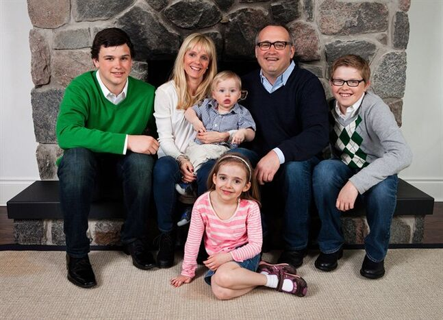 Conservative Party of Canada president John Walsh and his family including seven-year-old daughter Georgia are shown in a handout photo. Condolences are coming in for John Walsh, after his daughter Georgia was hit by a minivan in Toronto and killed. THE CANADIAN PRESS/HO