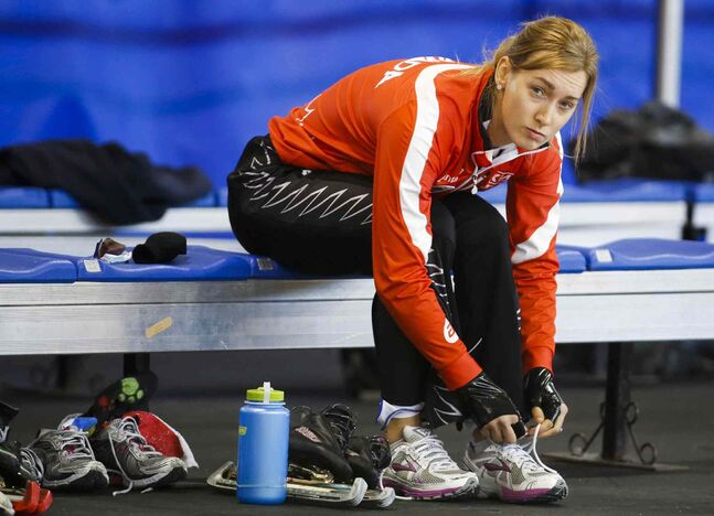 Winnipeg's Brittany Schussler was the lone Manitoban named to the Canadian long-track speedskating squad that will compete at the Sochi Olympics.