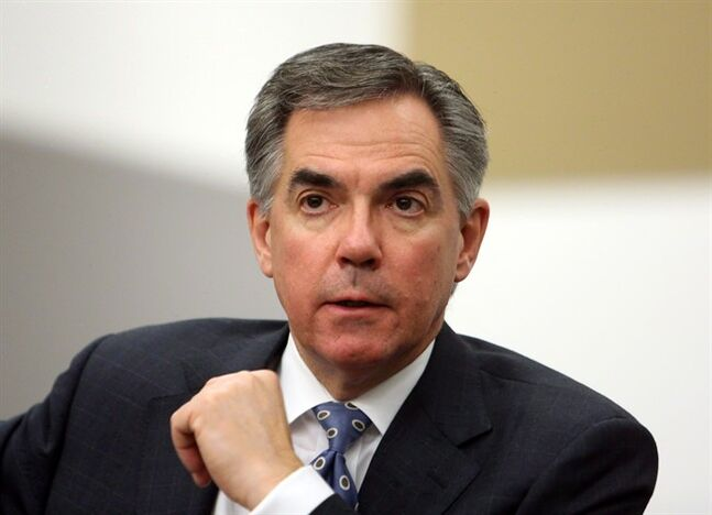Former Conservative federal cabinet minister Jim Prentice is shown during an interview in Ottawa on Monday, November 19, 2012. It's high time Canada started looking beyond the Obama era if it wants to push economic integration with the United States to a new level, says former Prentice.THE CANADIAN PRESS/Fred Chartrand