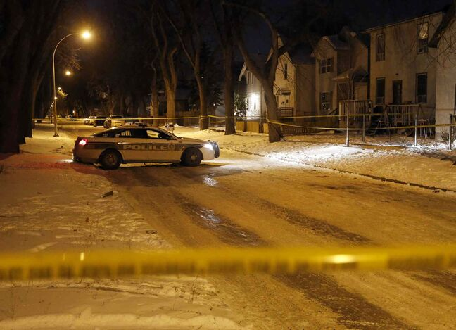 Winnipeg police are investigating an overnight shooting in the 400 block of Pritchard Avenue.