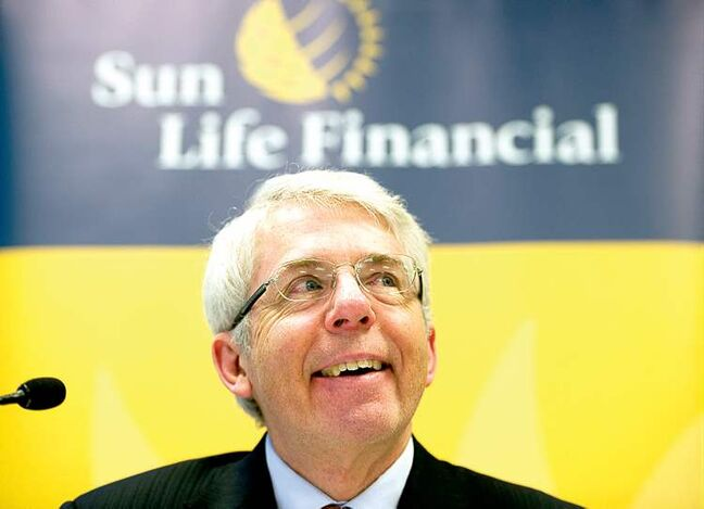 Sun Life Financial Inc. president and chief executive officer Dean Connor. Business has been strong, with $6.4 billion currently under management.