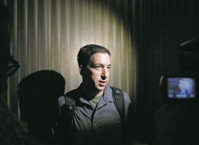 Glenn Greenwald reviewed hundreds of thousands of leaked NSA files, and detailing dozens in his new book.