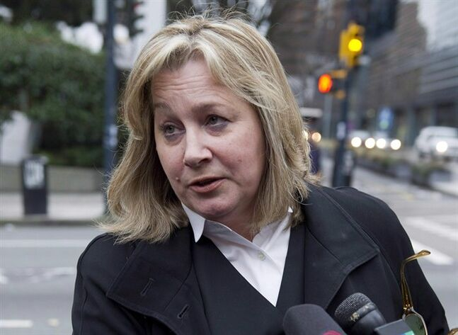 Crown lawyer Deborah Strachan. THE CANADIAN PRESS/Richard Lam
