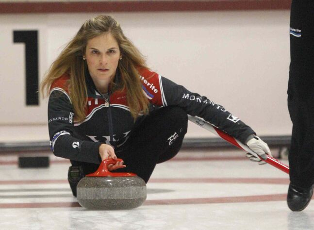 Jennifer Jones has yet to be beaten at Fort Rouge this weekend.