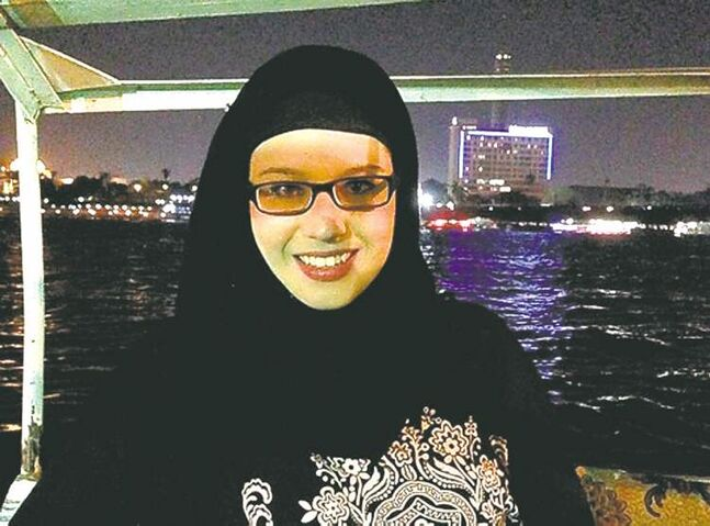Winnipegger Kate McDaniel is in Cairo teaching English among the unrest.
