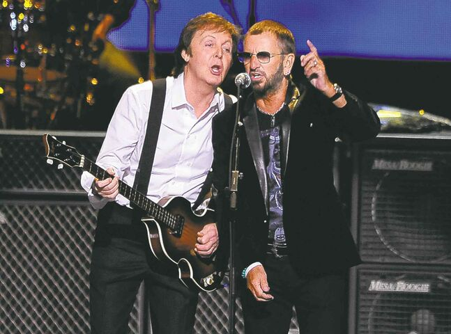 McCartney and Starr will perform at the Grammy Awards ceremony on Jan. 26.