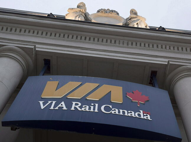 The Via Rail station is seen in Halifax on June 13, 2013. Via Rail has named a new chief executive officer little more than a week after a senior federal cabinet minister called for new leadership at the Crown corporation. Yves Desjardins-Siciliano is taking over from Steve Del Bosco, who had been doing the job on an interim basis since the start of this year. THE CANADIAN PRESS/Andrew Vaughan