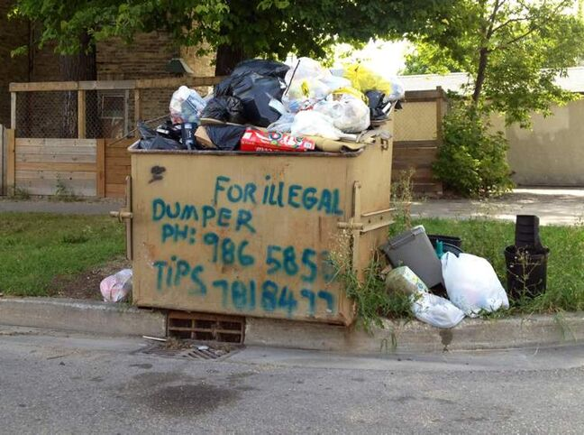 Taking extreme measures to stop illegal dumping in Winnipeg.