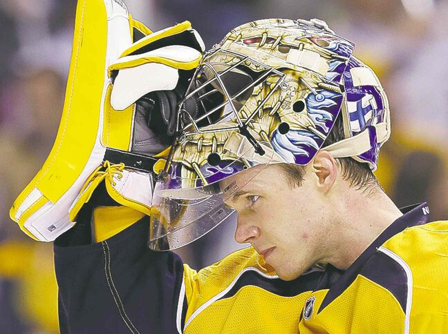 Pekka Rinne could be back next week.