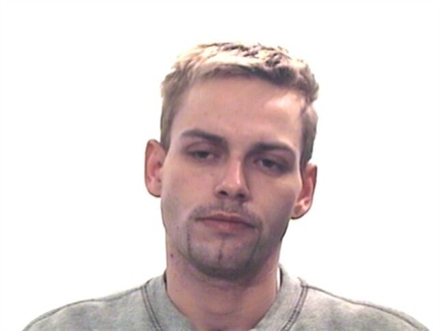 Dustin Paxton is shown in a Calgary Police handout photo. THE CANADIAN PRESS/HO, Calgary Police