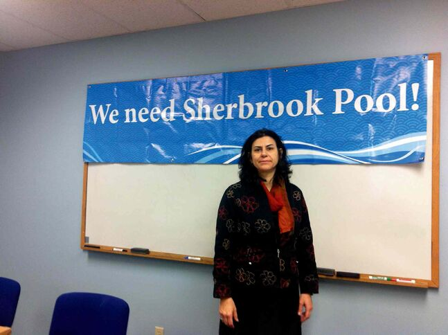 Marianne Cerilli, chair of Friends of Sherbrook Pool, announced that public consultations to discuss the future of Sherbrook Pool, among other issues, will be on Nov. 14 and Nov. 18.