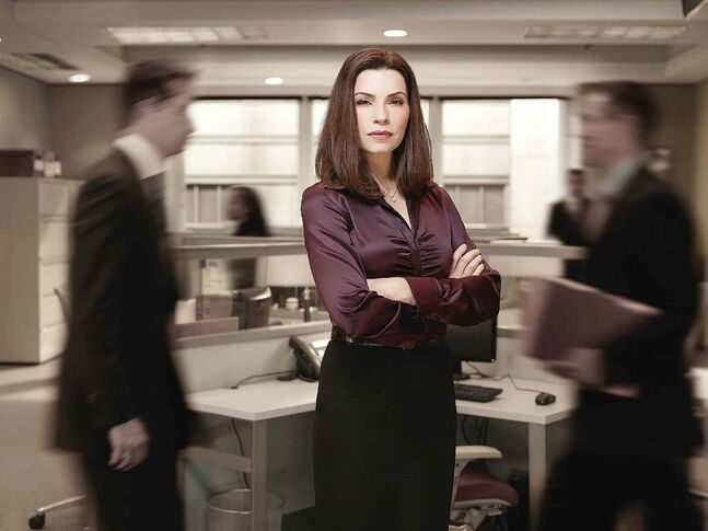 Alicia Florrick (Julianna Margulies) is showing her tough side on this season of The Good Wife.