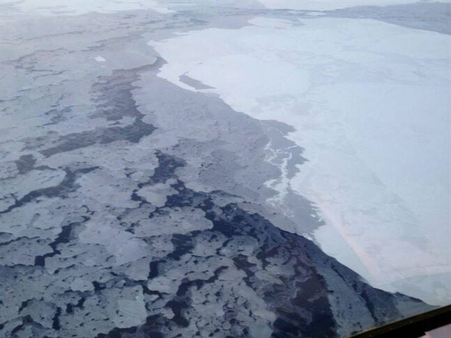 This handout photo provided by The National Oceanic and Atmospheric Administration (NOAA) shows Arctic sea ice in 2013. THE CANADIAN PRESS/AP, NOAA