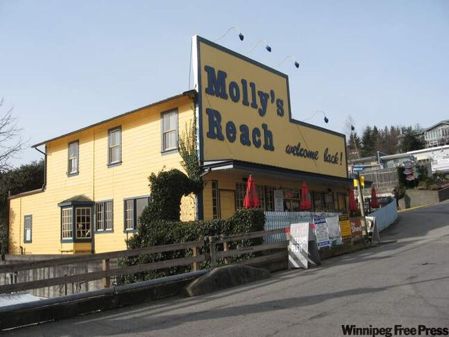 Molly's Reach still attracts tourists to Gibsons Landing, where they filmed the Beachcombers series.