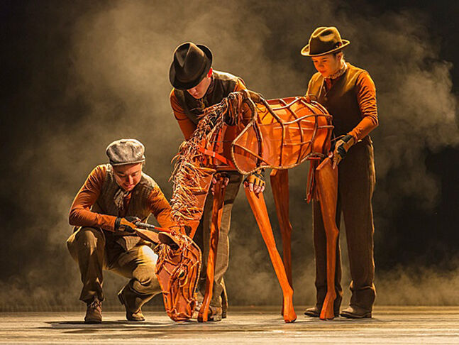 War Horse tells the story of Joey, the beloved horse of a boy, who is sold to the cavalry at the outbreak of the First World War.