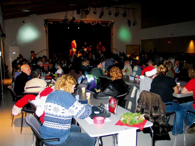 Headingley's annual Breakfast with Santa, shown here in 2004, celebrates its 10th anniversary on Saturday, Dec. 7.