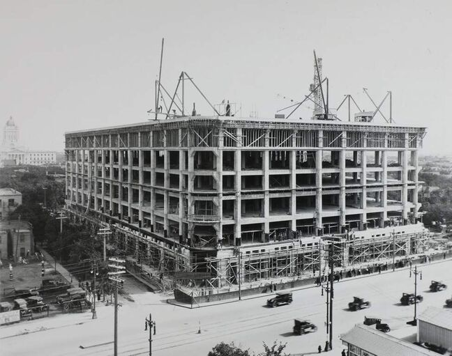 The construction proceeded with haste rarely seen today — it would open just a year after the ground was broken.