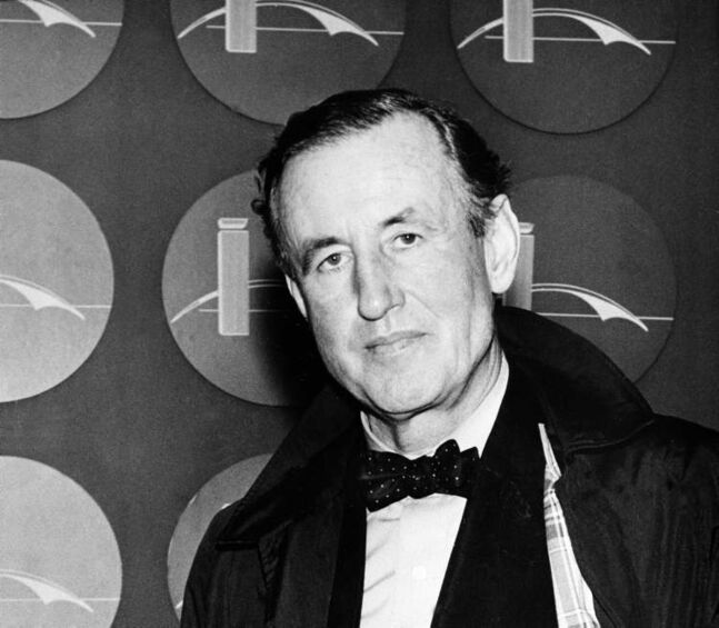 Ian Lancaster Fleming, best-selling  British author and creator of a fiction character known as secret agent James Bond, seen here in 1962.