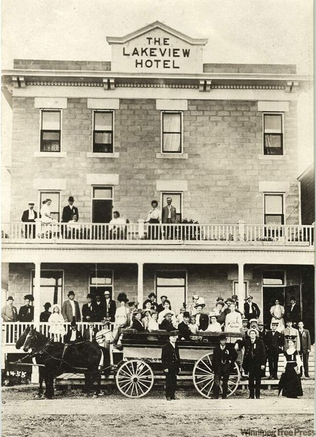 The Lakeview Hotel in Gimli, Manitoba