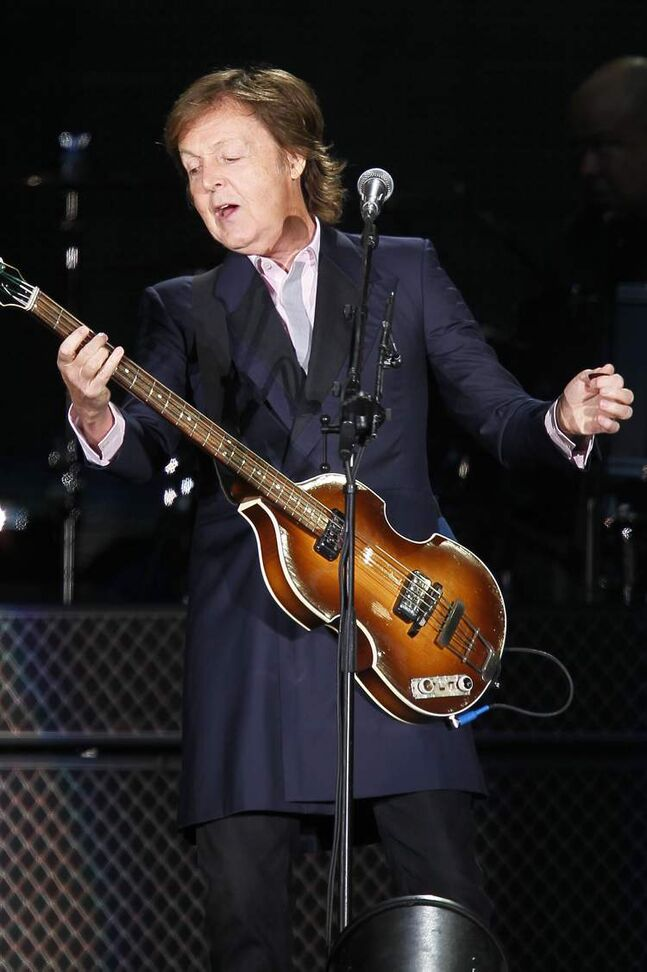 McCartney started the show with 'Eight Days a Week.'
