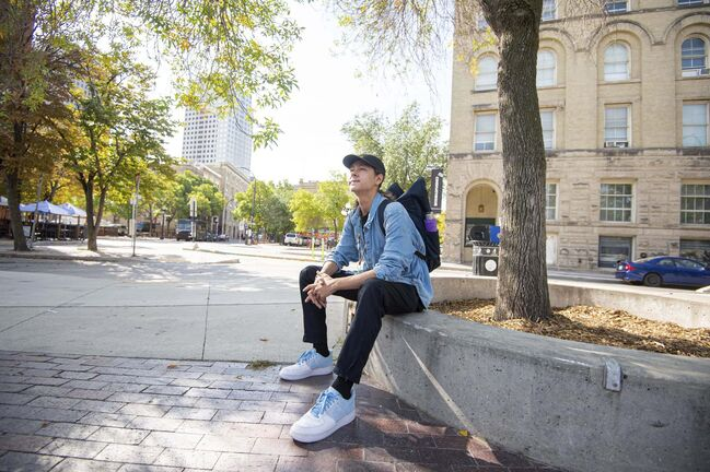 MIKE SUDOMA / Winnipeg Free Press</p><p>Rapper/instrumentalist and youth advocate Cayden Carfrae, a.k.a. Caid Jones, was first inspired by Eminem.</p>