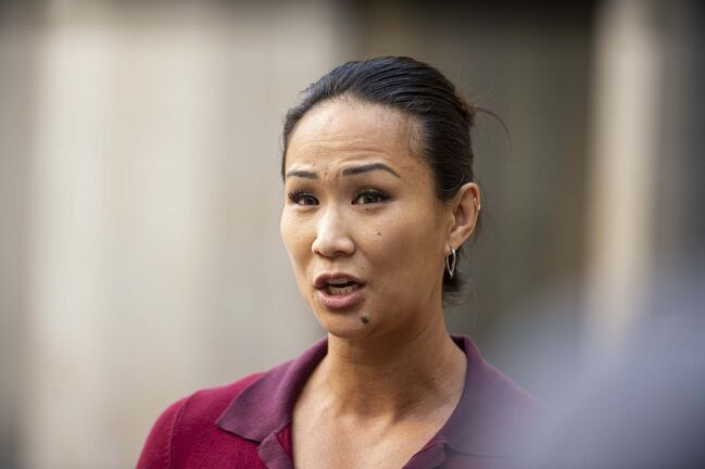 Coun. Vivian Santos notified her colleagues via email that following a failed security clearance check, she was not eligible to hold a seat on the Winnipeg Police Board. (Mike Sudoma / Winnipeg Free Press)