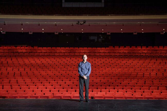 Mike Sudoma / Winnipeg Free Press</p><p>Martin Kull, the Centennial Concert Hall's general manger, expects a sellout for the Winnipeg Symphony Orchestra's reduced-capacity season.</p>