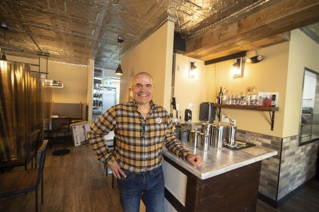 Bistro on Notre Dame owner Dean Herkert wasn't about to let coronavirus delay his dream, which was sidelined two years ago by a bout with West Nile.</p>