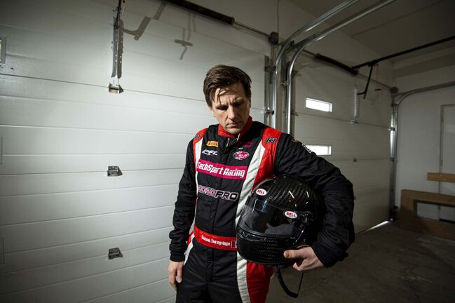 MIKE SUDOMA / WINNIPEG FREE PRESS<p> Making the jump from amateur to professional race car driving was no walk in the park for Damon Surzyshyn.