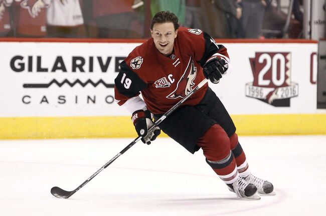 Ralph Freso / The Canadian Press</p><p>Arizona Coyotes&rsquo; Shane Doan.</p>
