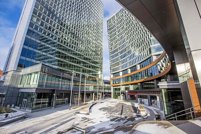 Skipthedishes has signed a lease for four-and-a-half floors of True North Square's office tower for occupancy Dec. 1, 2020. (Mikaela MacKenzie / Winnipeg Free Press)